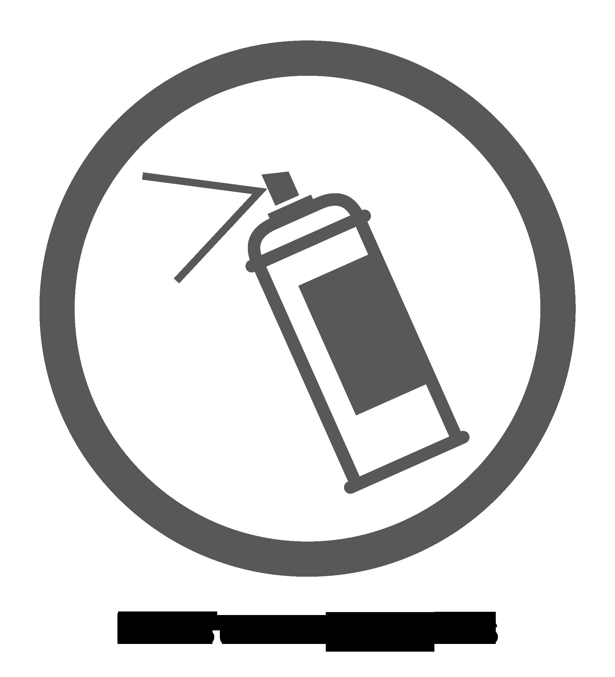 Logo surface résistante aux graffitis