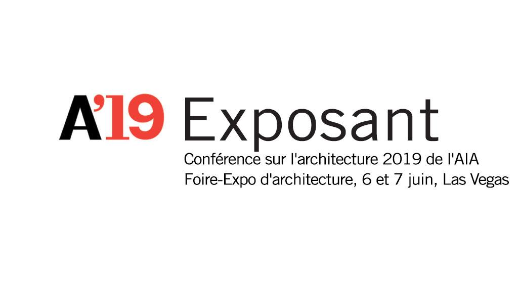 Logo de l'AIA Conference on Architecture 2019