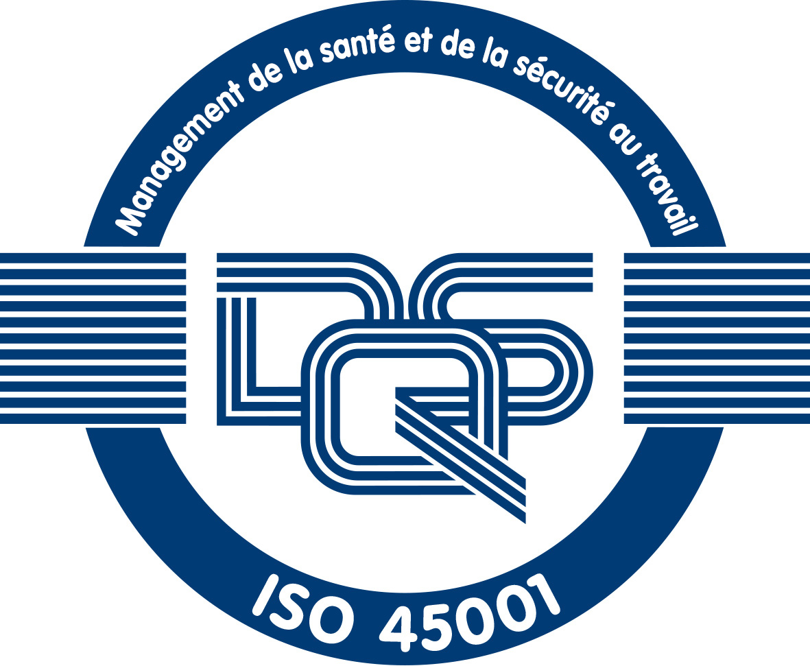 Certification ISO 45001:2015